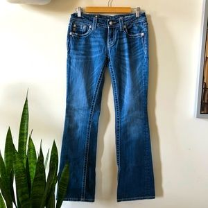 Miss Me mid rise easy boot jeans